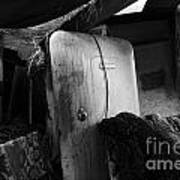 Ranchers House Black And White I Art Print