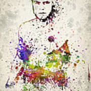 Randy Couture Art Print