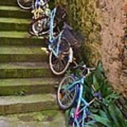 Range Of Bikes Art Print