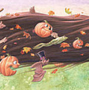 Rapunzel's Halloween Art Print