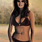 Raquel Welch 2 Art Print