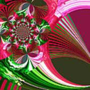 Raspberry Garden Art Print