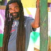 Rasta Man Art Print
