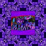 Rattlesnake Abstract Window 20130204m133 Art Print