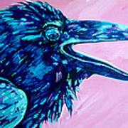 Raven Song Art Print