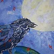 Raven Speak Art Print