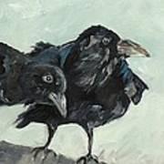 Raven's Perch Art Print