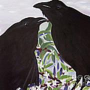 Ravens Song Art Print