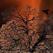 Ravens Tree Art Print