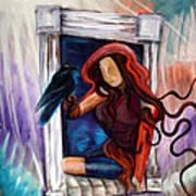 Raven's Wish Art Print