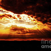 God's Hope In Skyscape Art Print