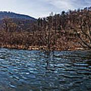 The Dam At Raystown Lake Art Print