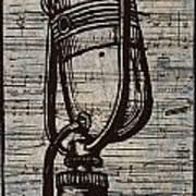 Rca 77 On Music Art Print