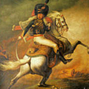 Re Classic Oil Painting General On Canvas#16-2-5-08 Art Print