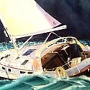 Reach For Safe Harbor Art Print