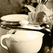 Ready For Afternoon Tea And Biscuits Art Print
