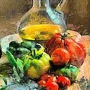 Ready For The Italian Sauce Art Print