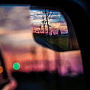 Rear View Landscape Art Print