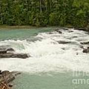 Rearguard Falls Of The Fraser River Art Print
