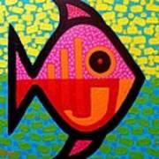 Rebel Fish  II Art Print by John  Nolan