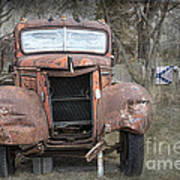 Rebel Truck Art Print