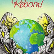 Reborn Art Print by Anthony Mwangi