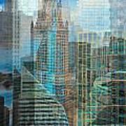 Rebuilding Landscapes 2 Art Print