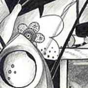 Receptors And Rabbit Ears And Long Pairs Of Antennas Art Print