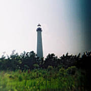 Recesky - Cape May Point Lighthouse 1 Art Print