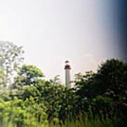 Recesky - Cape May Point Lighthouse 2 Art Print
