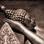 Reclining Buddha Art Print by Adrian Evans
