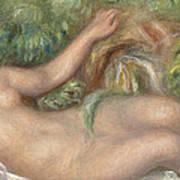Reclining Nude La Source Art Print