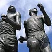Record Breaking Statues Art Print
