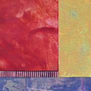 Rectangles - Abstract -art  Art Print