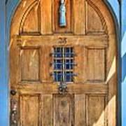 Rectory Door Art Print