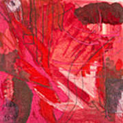 Red. 3 Art Print by Marie Tosto
