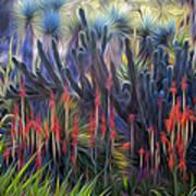 Red Aloe - Huntington Gsrden Art Print