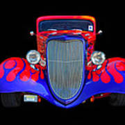 Red And Blue Custom Art Print