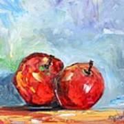 Red Apples Art Print