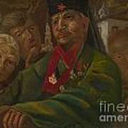 Red Army General Art Print