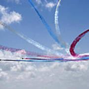 Red Arrows Aerobatic Display Team Art Print