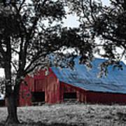 Red Barn 2 Art Print