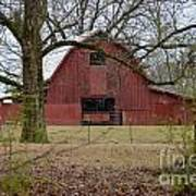 Red Barn Series Picture A Art Print