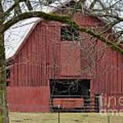 Red Barn Series Picture C Art Print