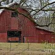 Red Barn Series Picture E Art Print