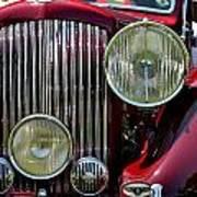 Red Bentley Grill Art Print