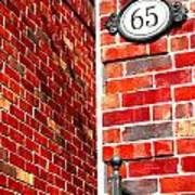 Red Bricks Art Print