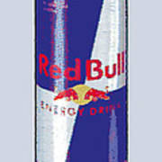 Red Bull Ode To Andy Warhol Art Print