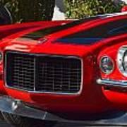 Red Camaro Art Print