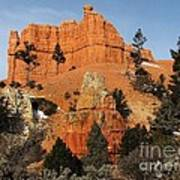 Red Canyon - Scenic Byway 12 Art Print